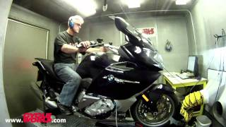 7. 2012 BMW K1600 GTL Dyno Run Performance Test