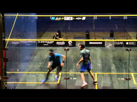 Squash : El Gouna International 2014 – Final Roundup Elshorbagy v Ashour