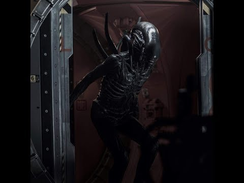 Alien Covenant All Xenomorph Scenes in digital HD (Hunting)