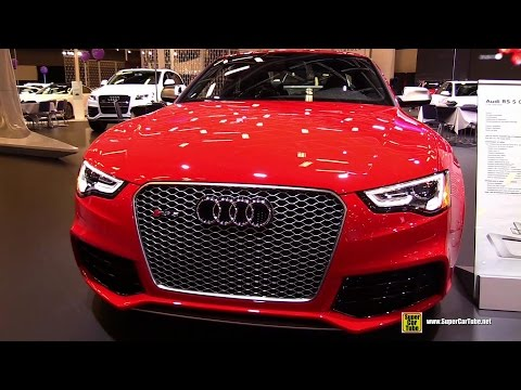 2015 Audi RS5 Coupé – Exterior and Interior Walkaround – 2015 Montreal Auto Show