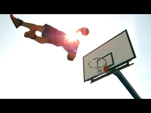 Cool basketball dunks!