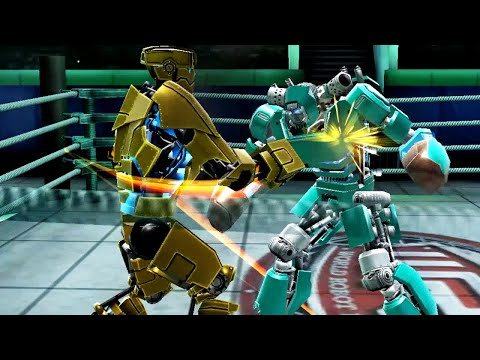 REAL STEEL WRB Gridlock VS Bluebot & Danger Zone & Blockbuster & Hollowjack