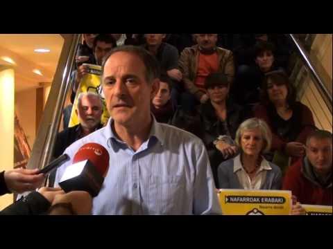 EH Bildu va a presentar una propuesta que busca democratizar a Navarra