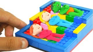 Video SUPERHERO BABIES SLEEP IN LEGO BEDS ❤ Superhero Babies Play Doh Cartoons For Kids MP3, 3GP, MP4, WEBM, AVI, FLV April 2019