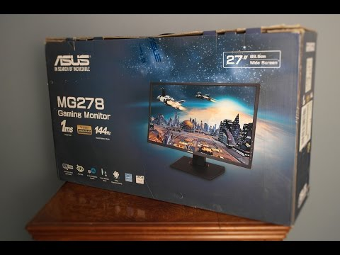 Asus MG278Q 144Hz Freesync Gaming Monitor - Review