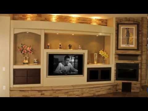 Thunderbird Custom Design – Custom Media Walls & Drywall Entertainment Centers