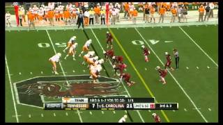 Tyler Bray vs South Carolina (2012)