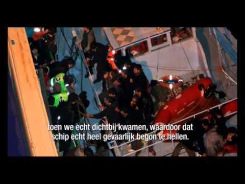 Hart van Nederland 18-01-2011 / Nederlands schip redt 226 drenkelingen