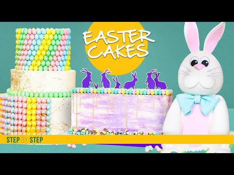 3 Spectacular Easter Cakes | Mini Eggs Cake Compilation | How To Cake It | Yolanda Gampp