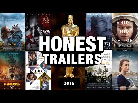 A Combined Honest Trailer for the Eight 2016 Best Picture Oscar
