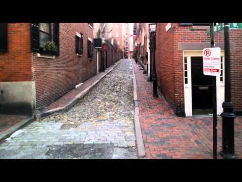 Capturing the Most Photographed Street in the U.S. with Google Glass (Beacon Hill)
