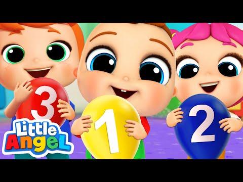 Learning the Numbers | Little Angel Kids Songs & Nursery Rhymes