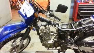 10. Suzuki DR engine work