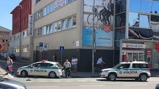 Bombariadó miatt evakuálták az összes dunaszerdahelyi postát és bankot