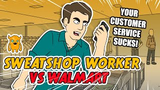 I called up Walmart and told them that a sweatshop worker from India left a note inside a pair of swimming trunks I purchased - check out how the manager handles this.Subscribe to catch my future videos! http://own.ag/youtubeDownload my automatic prank calling app! http://own.ag/appFacebook--------------------- http://facebook.com/OwnagePranksTwitter ------------------------ http://twitter.com/OwnagePranks2nd channel / Extras ---- http://youtube.com/MrOwnagePranksMerchandise ---------------- http://ownagepranks.spreadshirt.comOwnage Pranks is a channel devoted to prank calls. With over nine misfit characters voiced by one comedian, Ownage Pranks brings you a weekly dose of unscripted and improvised pranks that are sure to make you fall out of your seat laughing. What began as a hobby to entertain friends in 2004 has since evolved into the most subscribed prank call channel on YouTube! Join the OP Crew by subscribing and tune in every week to catch our hilarious, wild and outrageous pranks!