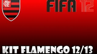 Kits Flamengo 12/13 http://www.universokits.com.br/2012/02/fifa-12-cr-flamengo-1213-full-kit-pack.html.