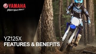 2. Yamaha YZ125X Features & Benefits