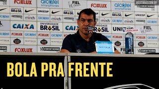 Após o fim da invencibilidade e a derrota no jogo contra o Vitória, o técnico Fábio Carille concedeu coletiva e respondeu as...