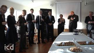 Ögmundur Jónasson, Minister of the Interior of Iceland - Welcome Toast