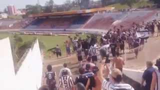 TUSB invadindo o Estádio Municipal antes da vitória sobre o eterno freguês