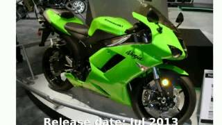 1. 2004 Kawasaki Ninja ZX-6R  Transmission motorbike Engine Specification Specs superbike