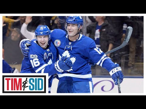 Video: Patrick Marleau on playing with Auston Matthews, Maple Leafs Captaincy | Tim and Sid
