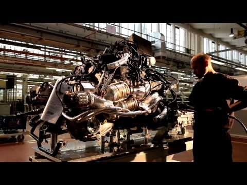 How It is Made - Lamborghini Aventador