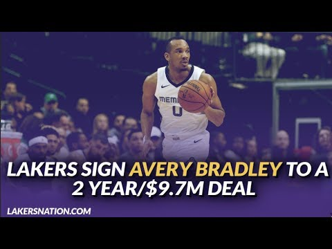 Video: Lakers Free Agency: Lakers Reportedly Sign Avery Bradley to a 2 year/$9.7M Deal