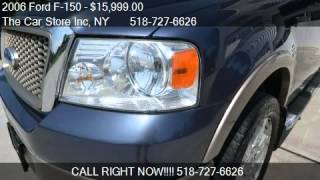 2006 Ford F-150 Lariat 4dr SuperCrew 4WD Styleside 5.5 ft. S
