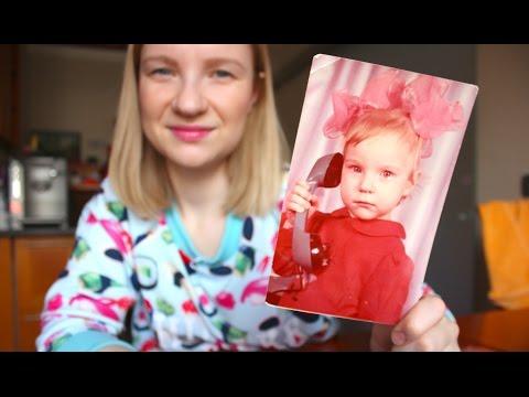 Влог : Катя моя копия, детские фото,  вареники, покупки для детей , занятия и т.д.