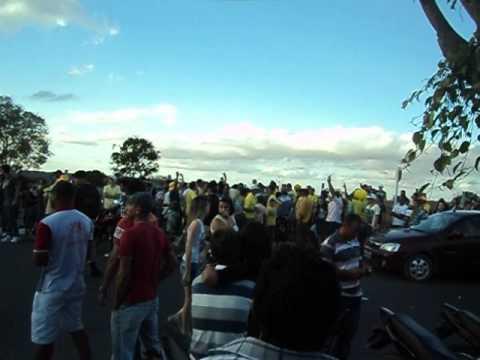 Arthur Galdino e seus eleitores cantando vitória minutos antes da derrota em Pocinhos-PB