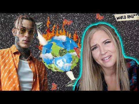 HE SAID WHAT?! | Lil Skies - World Rage | REACTION (видео)