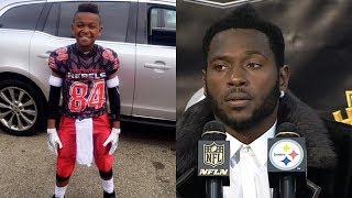 Antonio Brown Says 9-Year Old Son Needs to