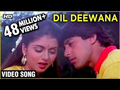Video Dil Deewana Bin Sajna Ke - Maine Pyar Kiya - Lata Mangeshkar's Superhit Romantic Song download in MP3, 3GP, MP4, WEBM, AVI, FLV January 2017