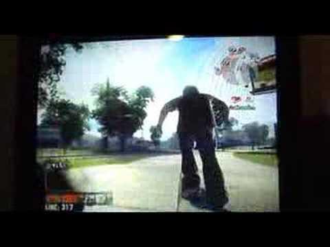 CRAZY LOOK!!!!!!! EA SKATE XBOX 360 Gameplay