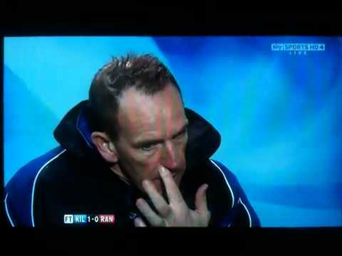 Kenny Shiels - Kenny Shiels speaks the truth.
