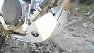 9. Yamaha WR250R 2012 Aluminum Skid Plate Review