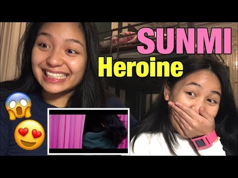 [ENG SUB] French REACTION to SUNMI - Heroine l 4KPOP