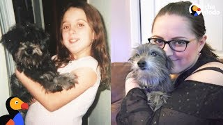Woman Reunites With Childhood Dog and Adopts Him | The Dodo by The Dodo