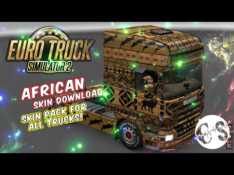 African Skin Pack for All Trucks