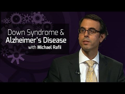 Watch video Down Syndrome and Alzheimer