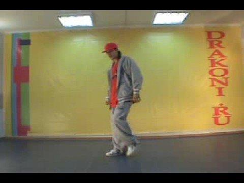 Урок хип-хоп от танцевальной школы Драконы - 1