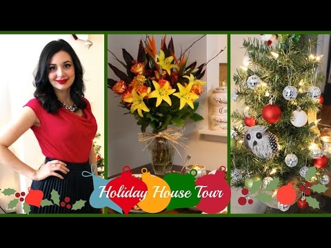 Holiday Home Tour, Christmas Party OOTD and Recipes!