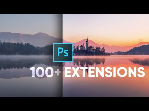 Don't Miss 100s of Free Photoshop Extensions!