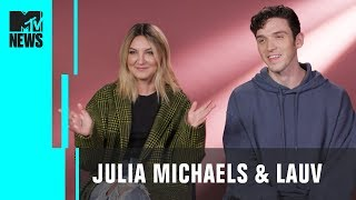 Julia Michaels & Lauv on Their Collab 'There's No Way' & Connecting w/ Fans   MTV News