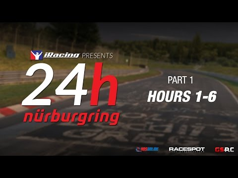 iRacing 24 Hours Nürburgring // Hours 1-6