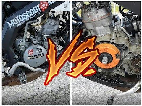 Derbi senda xtreme con rotor vs Derbi senda xtreme sin rotor