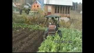 Дракон пашет (Home made tractor).wmv