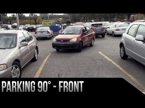 Parking 90 degrees - Front