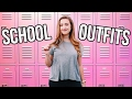 OUTFITS FOR SCHOOL 2017 | Cute n Comfy School Outfit Ideas